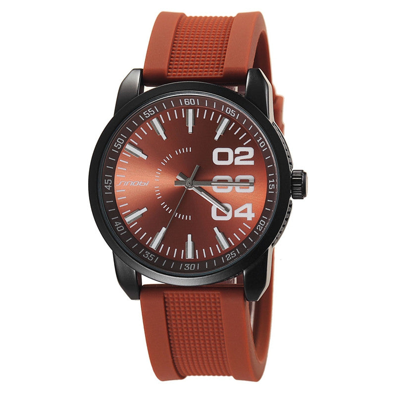 Famous Brand Male Quartz Watches Sport Men Silicone Watch Fashion Wristwatch Mens Military Watches Relogio Masculino