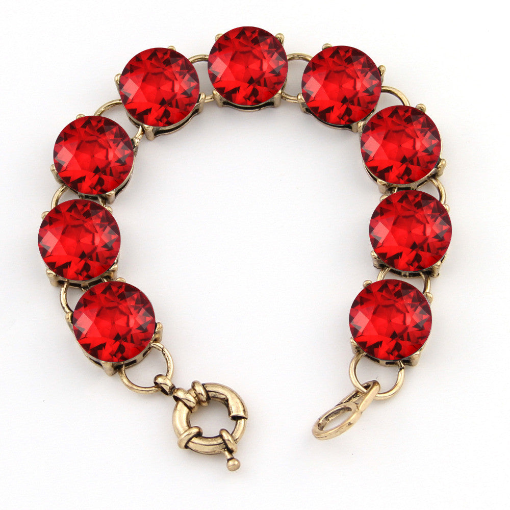 Fashion Cute Vintage Rould Dot Bracelets Bangles Fashion Jewelry For Women