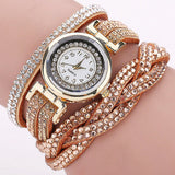 Fashion Luxury Rhinestone Bracelet Women Watch Ladies Quartz Watch Casual Women Wristwatch