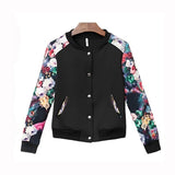 Women jackets winter outerwear female plus size clothing short design thin outerwear baseball uniform female slim jacket