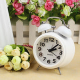 Fashion Small Double-Bell Night Light Children Alarm Clock