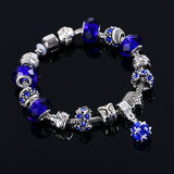 Fashion Women Bracelet Crystal Bead Charm Bracelet For Women Jewelry Original Bracelets Gift