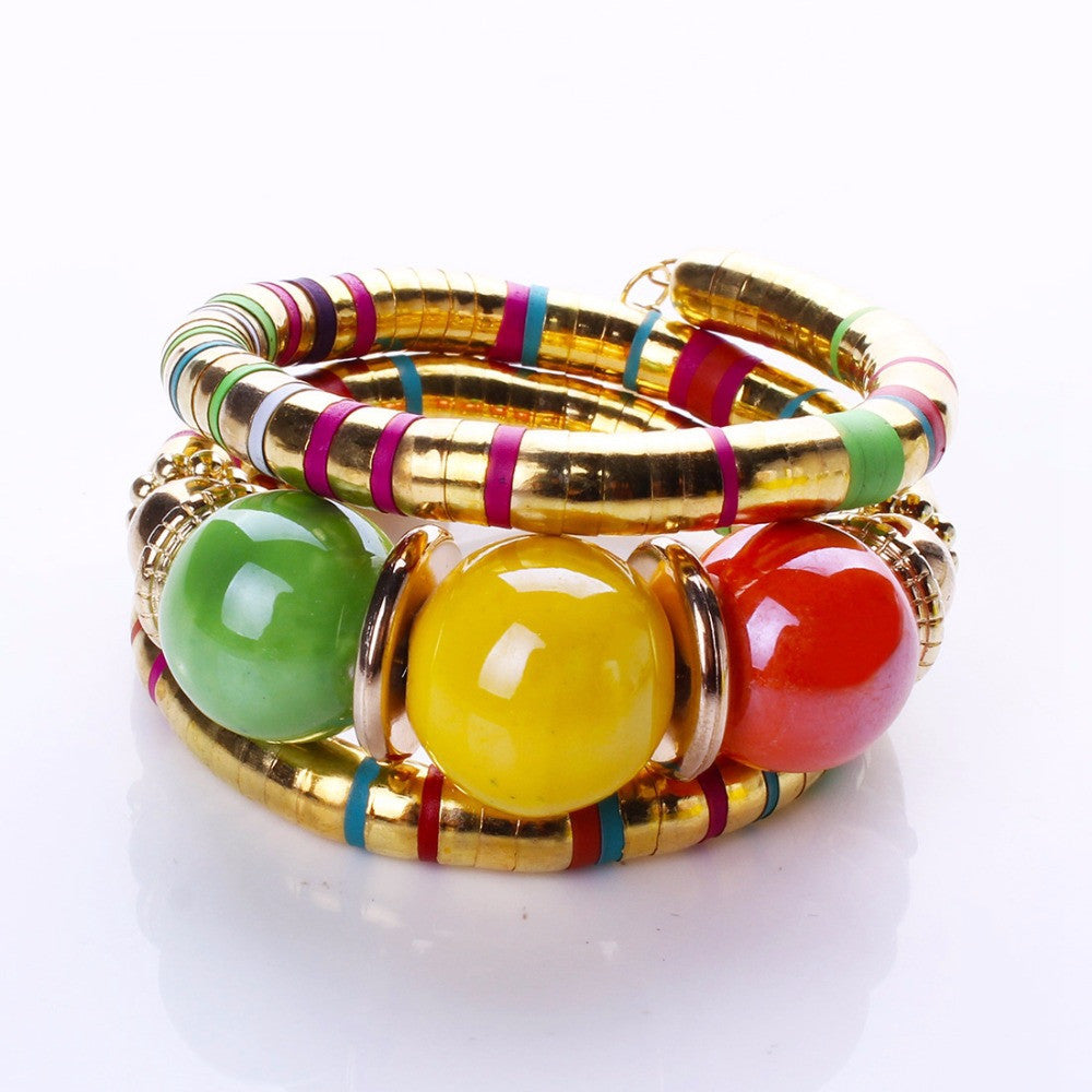 Fashion Bracelets Bangles For Women  Resin Alloy Tibetan Silver Bracelets&Bangles Adjust Bangles Accessories Gifts