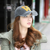 Fashion Caps Letter W Spring Summer Sun-Proof Adjustable Casual Sports Boy girl Youngers Women Men Hat Cap Visors Outing Gorras Hats Hip-pop Caps