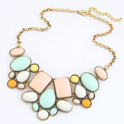 Fashion Collar Collier Femme Colar Vintage Statement Fashion Necklace for Women Mujer Jewelry Choker Necklace & Pendant Accessories