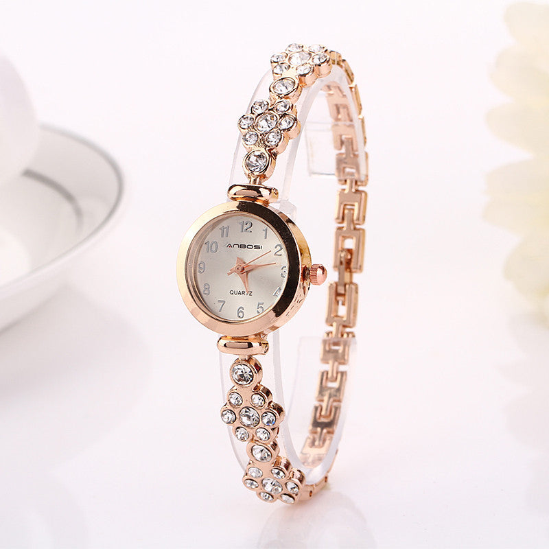 Fashion Hot Selling Casual Luxury Bracelets Stainless Steel Luxury Wristwatch Watch Women Dress Electronics Lady Watch