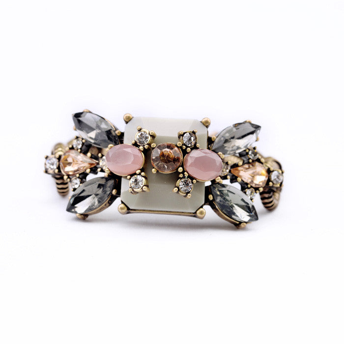 Fashion Jewelry Resin Plant Antique Charm Bracelet