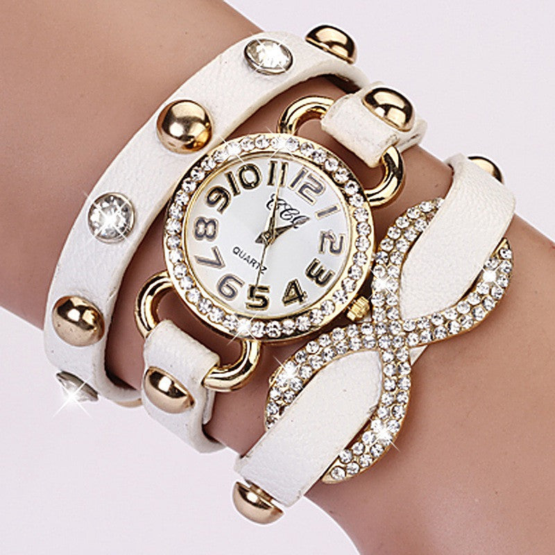 Fashion New Arrive Watches Women Luxury Brand Leather Bracelet Wristwatch Women Dress Sport Wristwatches Business Watch