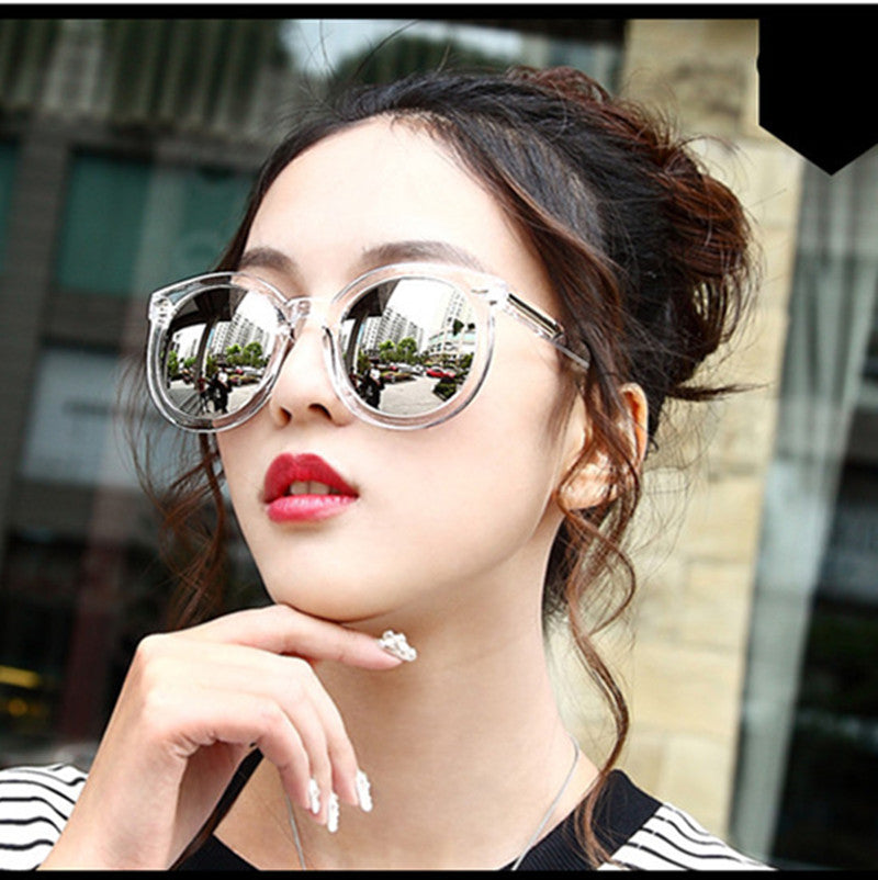 Fashion multicolour Mirror glasses sunglasses women Vintage sunglasses Women Brand Designer sun glasses