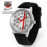 GT WATCH No.45 Driver Car Racing Sport Relojes Men's Fashion Wristwatch Silicone Strap Quartz Dress Military Women Causal Watch