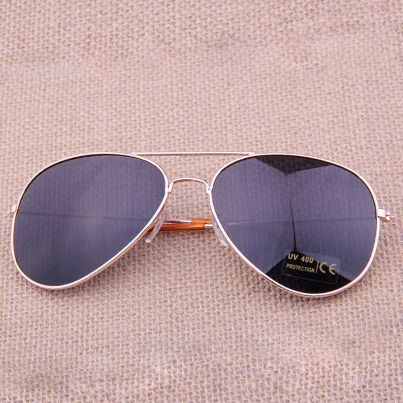 Gafas de sol Classic Sun glasses 2016 Vintage Metal frame Sunglasses Men Women Stylish Bat Mirror Eyewear
