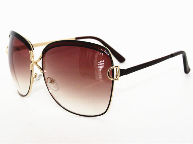 High Quality Brand Designer sunglasses Fashion Vintage Sun glasses women White frame glasses
