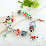 High Quality Chain Bracelet for Women With Exquisite Murano Glass Beads Christmas Charm Gift DIY Gift