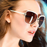 High Quality Women Brand Designer Sunglasses Summer Luxury D frame Shades Glasses gradient lenses sun glasses