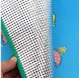 High quality child play mats aluminum eco-friendly baby play mats crawling pad,can be used as camping mats, tent mats 160 * 180