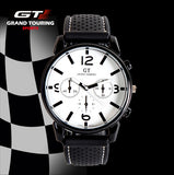 Hot Sale Grand Touring GT Sport Men's Quartz Wristwatches Silicone Bracelet Women Military Watch