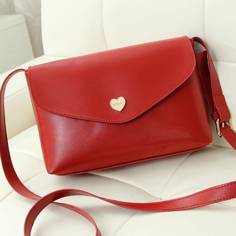 Hot Sale Heart Women Leather Handbags Cross Body Shoulder Bags Fashion Messenger Bags