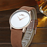 IBSO Brand Classic Quartz Watch Men Watches Top Brand Luxury Famous Genuine Leather Wristwatch Male Clock Relogio Masculino