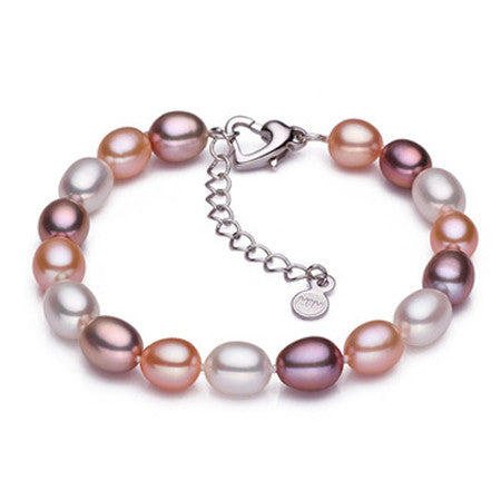 pearl bracelet for women 18k white gold plated clasp bracelets amp bangles top quality friendship bracelet
