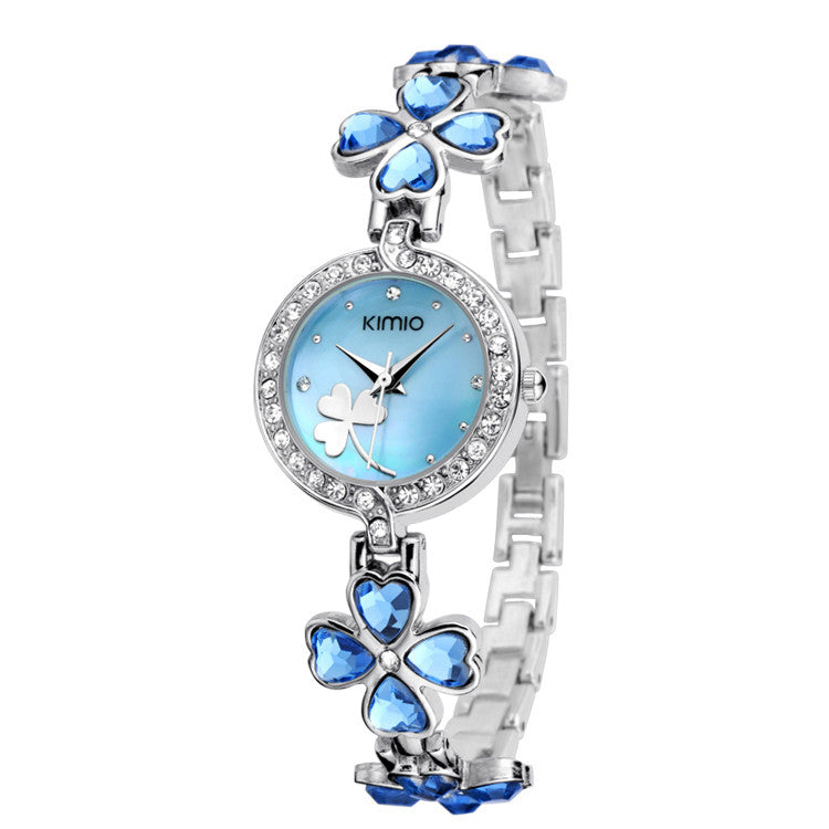 KIMIO Bling Women Dress Watch Women Luxury Brand Full Crystal Diamond Watches Quartz Fashion Casual Lady Watches