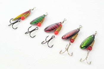 Hot sale Fishing Lures Fishing spinner Tackle paillette spoon Lures Mix Color