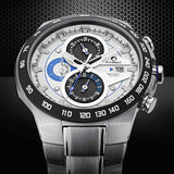 Luxury brand watches men sports fashion table luminous multifunction racing mens quartz wrist watch waterproof 100m