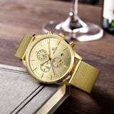 MEGIR New Chronograph Steel Watch Men Luxury Brand Famous Wrist Watch For Man Clock Male Quartz-watch