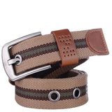 Canvas pin buckle belt unisex military belt Army tactical fashion belt mens top quality men strap