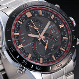 Men Wristwatches CURREN Luxury Brand Stainless Steel Strap Analog Date Men's Quartz Watch Casual Watch