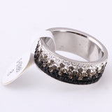 Jewelry Charms Rings For Women AAA Crystal Hot sale Elegant Stainless Steel Rings