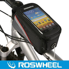 Bike Bicycle Cycle Cycling Frame Tube Panniers Waterproof Touchscreen Phone Case Reflective Bag
