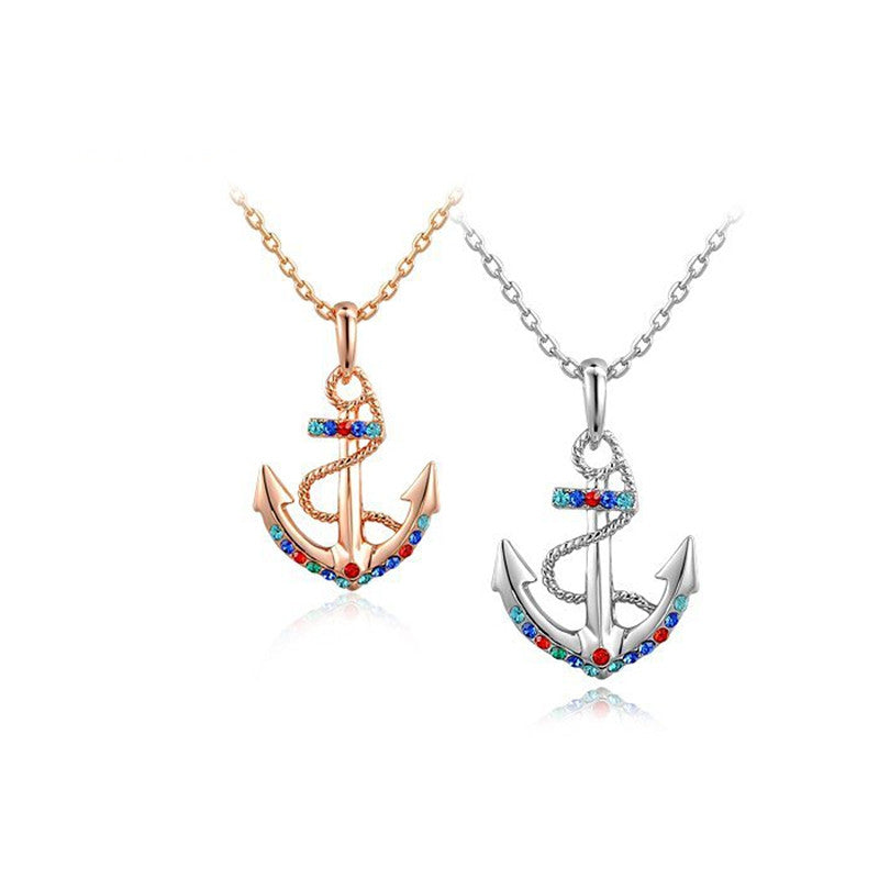 Necklaces & Pendant Women Jewelry Anchor Style Necklace Fashion Accessory