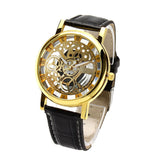 New Fashion Engraving Watches Imitation of Mechanical Watch Gift