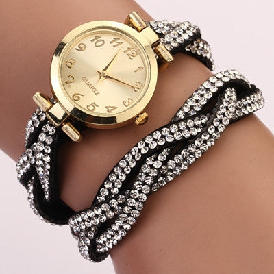 New Fashion Luxury Bracelet Quartz Women Casual Watch Women Wristwatches Dress Classic Clock Watches