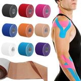 DL Brand Kinesiology tape 5cmx5m Kintape box+Manual Elastic Medical Supplies,Physio MuscleTherapy tape,Sports Safty accessories