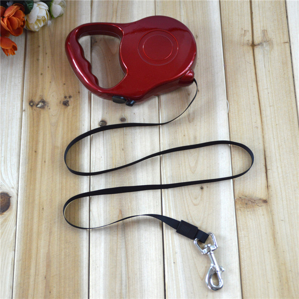 5 colors portable Automatic Retractable Dogs Leash harness Roaming Rope
