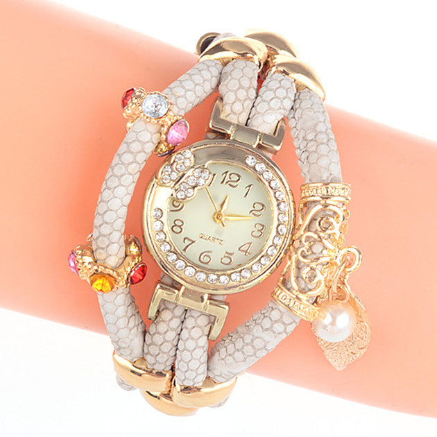 New Arrival Luxury Women Dress Watches Women Leather Quartz Watches Women Wristwatches