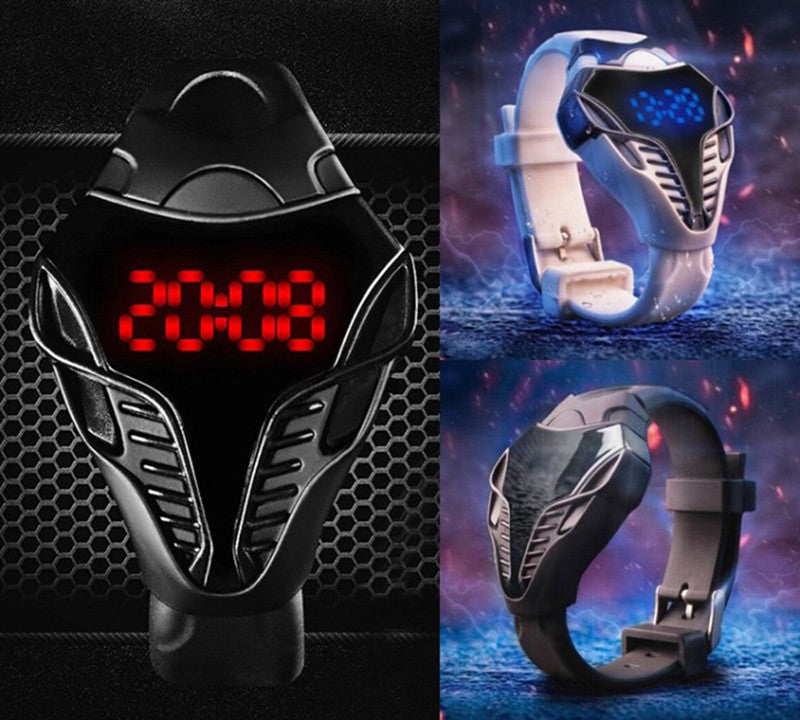 New Arrival!Waterproof Cobra wristwatch Touch Screen Digital Watches Men Women led watch Male Military Wristwatches sports watch