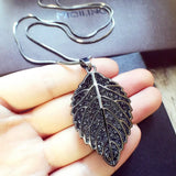 New Arrival Women Pendant NecklacesNew Long Necklace Palm Tree Leaf Necklace