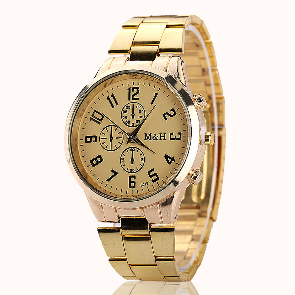 New Brand Business Alloy Wristwatch Watches Men Women Dress Brand Formal Fashion Casual Business Luxury Watch
