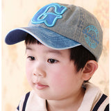 New Cowboy Summer Kids Fashion Caps Children Boys Girls Letter pattern Baseball Caps Adjustable Hip Hop Snapback Sun Caps Hat