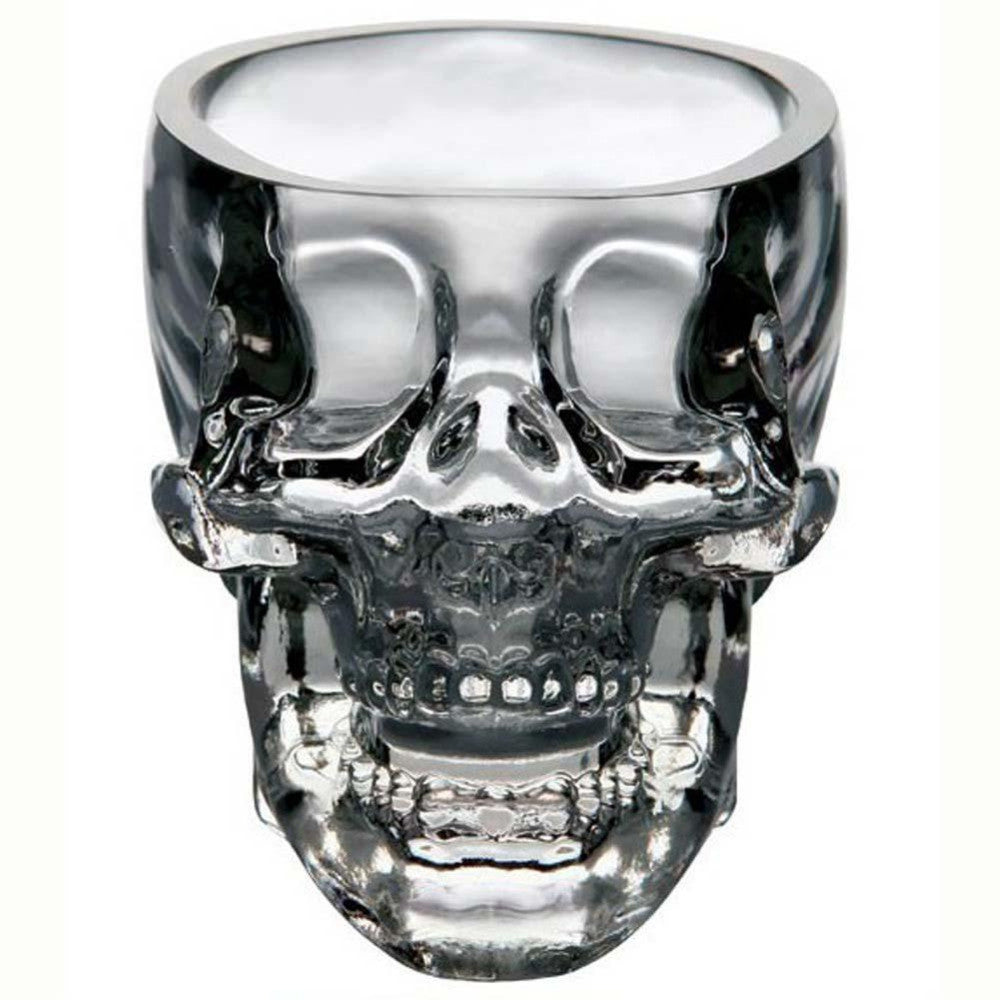 New Crystal Skull Head Vodka Whiskey Shot Glass Cup Drinking Ware Home Bar Cup Mug