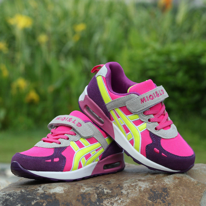New Design Children sports shoes boys and girls air cushion shoes comfortable kids sneakers child running shoes