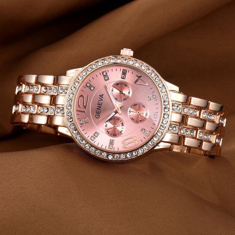 New Design Simulation Dial Watches Women Luxury Brand Quartz Wristwatch Women Men Dress Watches Electronic Style