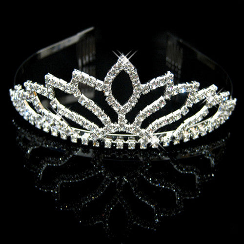 New Fashion Princess Bride rhinestone crystal tiara crown wedding accessories