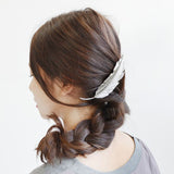 New Hot Fashion Vintage Gold Retro Metal Feather Big Hairgrips Hair Clip For Women Accessories Jewelry