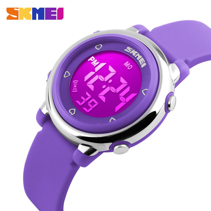 SKMEI Children LED Digital Watch Sports Watches Kids Cartoon Jelly Waterproof Children's Dress Wristwatches Relojes