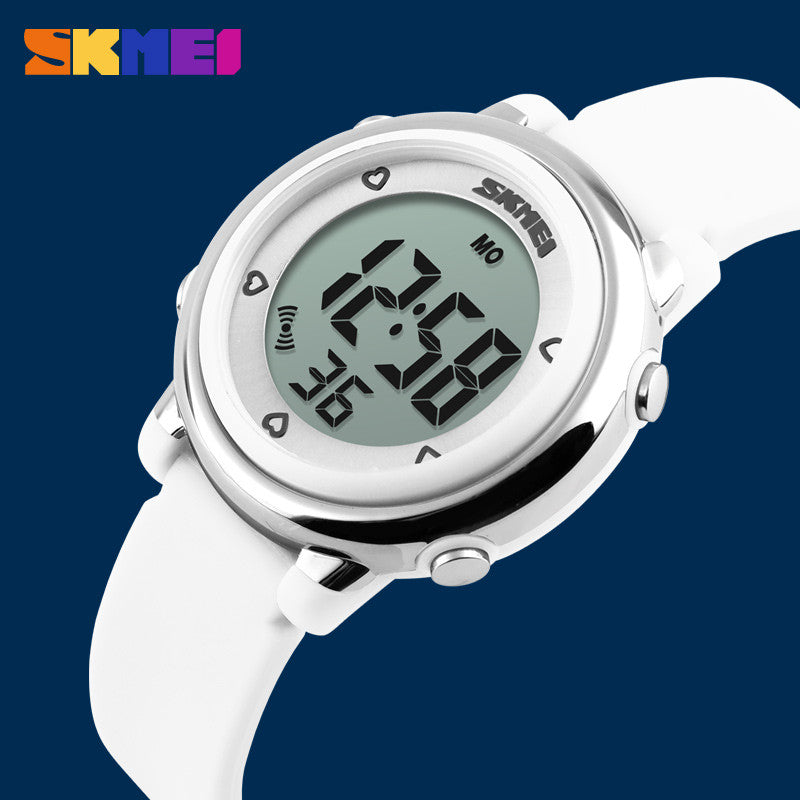 SKMEI Children watch LED Digital Sports Relojes Mujer Boys girls fashion Kids Cartoon Jelly Waterproof Relogio Feminino