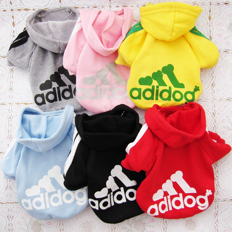 New Spring Fashion Dog Clothes Cat Pet Hoodie Coat Sportwear Cotton Sweater Outfit Clothing for Small Dogs