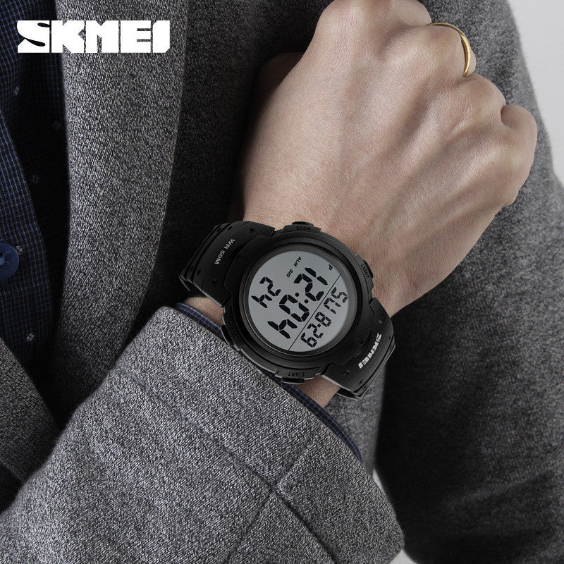 New Sports Watches Men Shock Resist Army Military Watch LED Digital Watch Relojes Men Wristwatches Relogio Masculino Skmei
